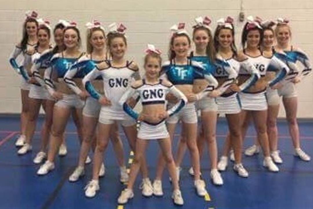 cheerleading groupe 2016-2017